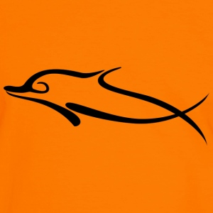T-shirt Dolphin - T-shirt contraste Homme