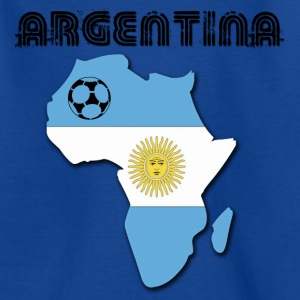 Royal blue Argentina in Africa Kids' Shirts - Teenage T-shirt
