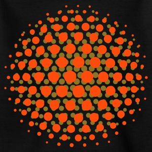 FUNKY DISCO SUPERNOVA - MOIRE PATTERN - by toneyshirts.de - Teenager T-Shirt