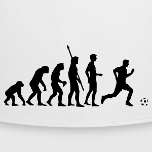 White evolution_fussball  Aprons - Cooking Apron