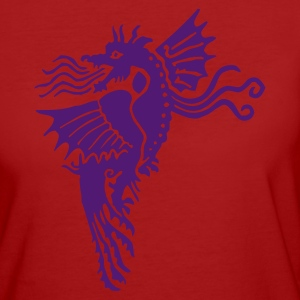 Purple Dragon - T-shirt ecologica da donna