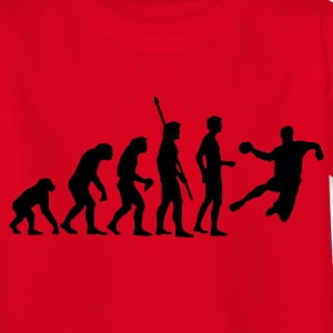 Red evolution_handball_b_1c Kids' Shirts - Teenage T-shirt