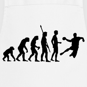 White evolution_handball_b_1c  Aprons - Cooking Apron