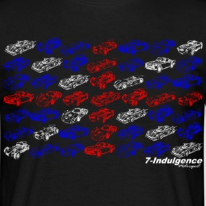 Multi Car Union Jack - Men's T-Shirt