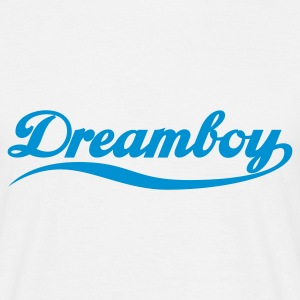 Weiß Dreamboy © T-Shirts - T-skjorte for menn