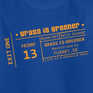 Navy ticket: grass is greener Kinder T-Shirts - Teenager T-Shirt