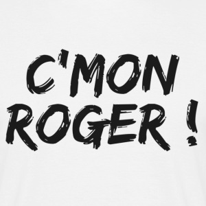 Blanc come on roger T-shirts - T-shirt Homme