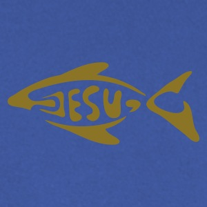 Red jesu_fish Hoodies & Sweatshirts - Men's Sweatshirt