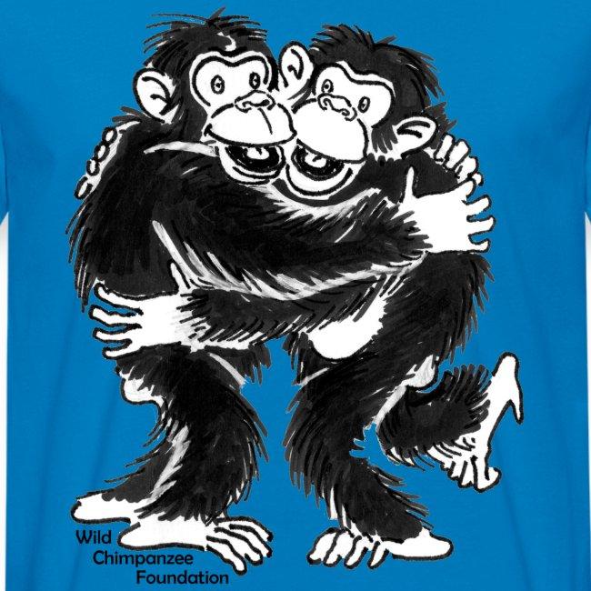 Chimpanzees Men Earth Positive Shirt