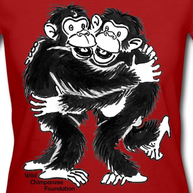 Chimpanzees Women Earth Positive Shirt