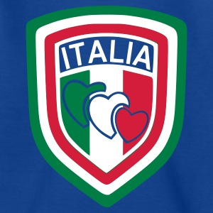 Royal blue scudetto_italia1 Kids' Shirts - Teenage T-shirt