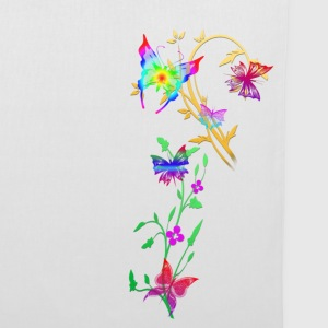 butterflies multi coloured - Tote Bag