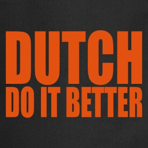 Svart Dutch do it better Förkläden - Förkläde