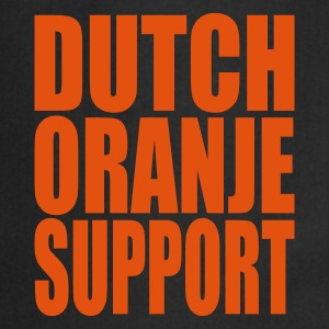 Noir Dutch oranje support Tabliers - Tablier de cuisine