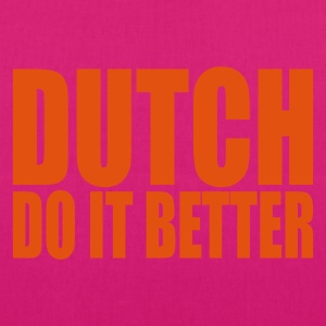 Black Dutch do it better Bags  - EarthPositive Tote Bag