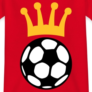 KÖNIG FUSSBALL | Kindershirt - Teenager T-Shirt