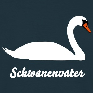 Navy Schwan © T-Shirts - Men's T-Shirt
