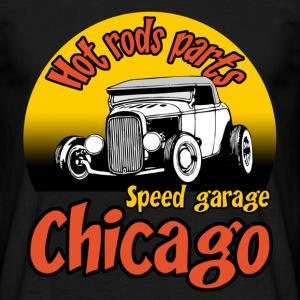 Noir speed garage chicago T-shirts - T-shirt Homme