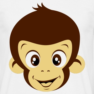 White Monkey Men's T-Shirts - Men's T-Shirt