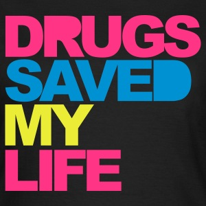 Black Drugs Saved V2 Women's T-Shirts - Women's T-Shirt