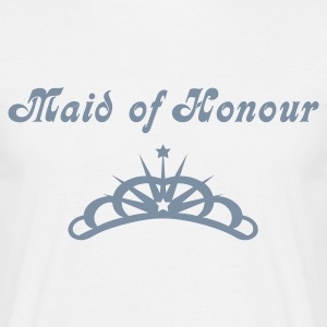 White Tiara Men's T-Shirts - Men's T-Shirt