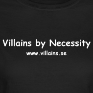 Design ~ Villains by Necessity - White text - Women