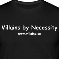 Design ~ Villains by Necessity - White text - Men