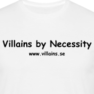 Design ~ Villains by Necessity - Black text - Men