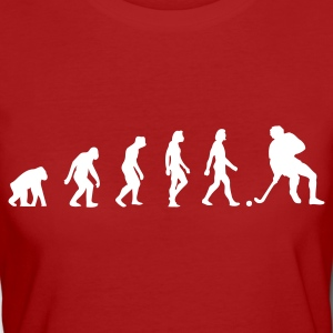 Purple Hockey Evolution 1 (1c) Organic Products - Women's Organic T-shirt