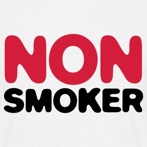 White Non Smoker (2c) Men's T-Shirts - Men's T-Shirt