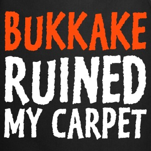 Czarny Bukkake Ruined my Carpet 1 (2c) Fartuchy - Fartuch kuchenny