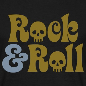 Schwarz Rock & Roll © T-Shirts - Men's T-Shirt