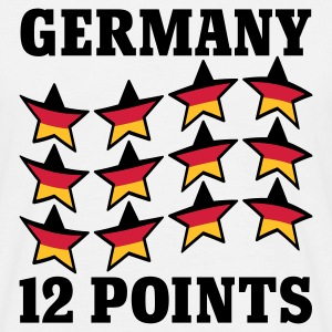 Weiß Germany 12 Points © T-Shirts - Herre-T-shirt