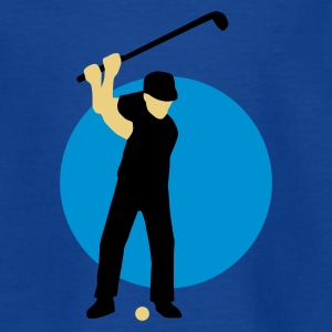 golfer_3c Shirts - Teenage T-shirt