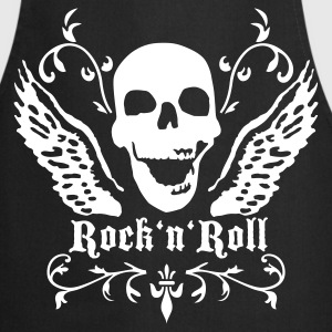 rock_n_roll_skull_1c  Aprons - Cooking Apron
