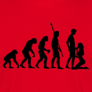 evolution_sucks_a_1c T-shirts - Herre-T-shirt