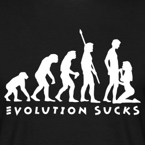 evolution_sucks_b_1c Tee shirts - T-shirt Homme