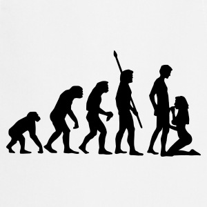 evolution_sucks_a_1c Forklæder - Forklæde