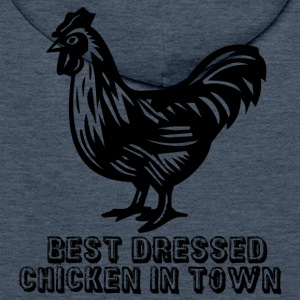 Green Best Dressed Chicken Hoodies & Sweatshirts - Men's Premium Hoodie