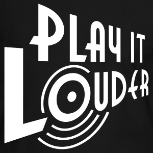 PLAY IT LOUDER | Kontrastshirt - Männer Kontrast-T-Shirt