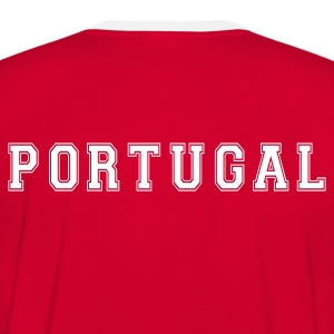 T-Shirt FOOT Portugal - T-shirt contraste Homme