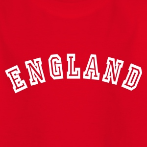 Red England Kids' Shirts - Teenage T-shirt