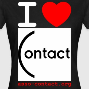 I love Contact - T-shirt Femme