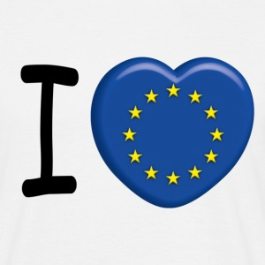 I love Europe - T-shirt Homme