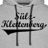 Motiv ~ Sülz-Klettenberg Kapuzenshirt Farbwahl (schwarzer Druck)