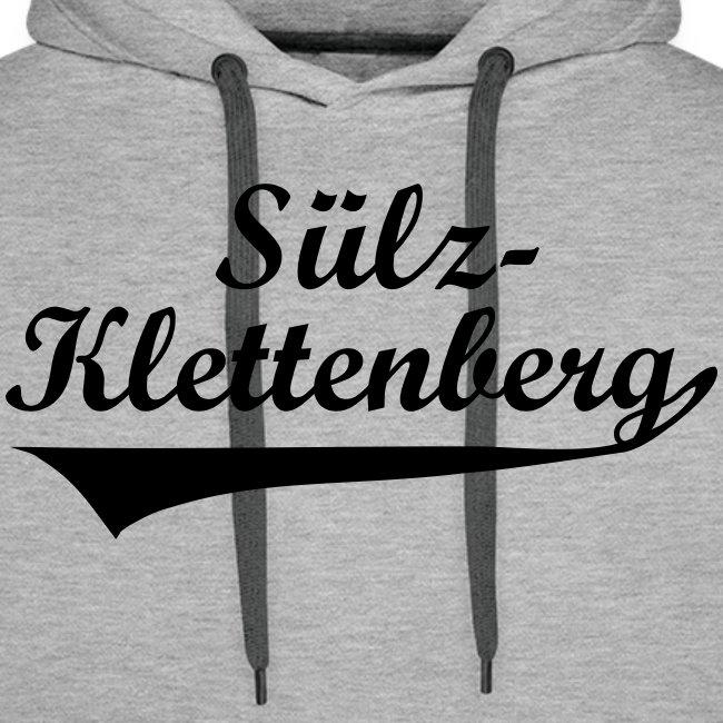 Sülz-Klettenberg Kapuzenshirt Farbwahl (schwarzer Druck)