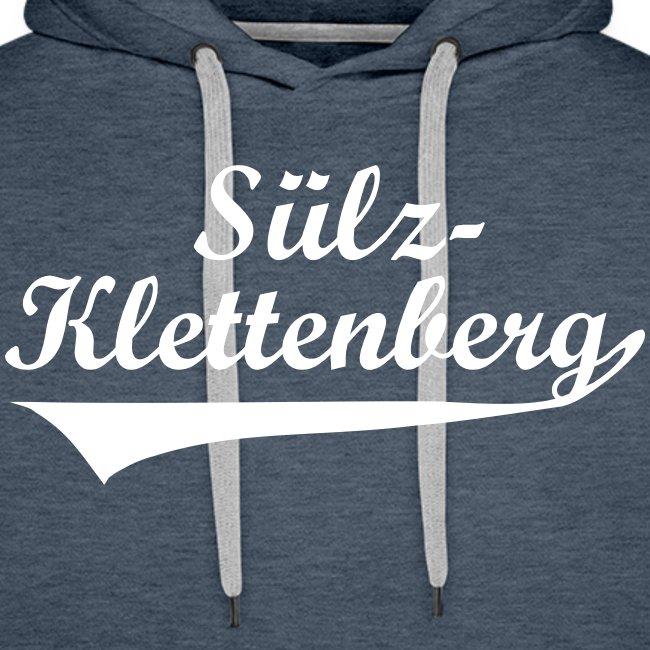 Sülz-Klettenberg Kapuzenshirt Farbwahl (weißer Druck)