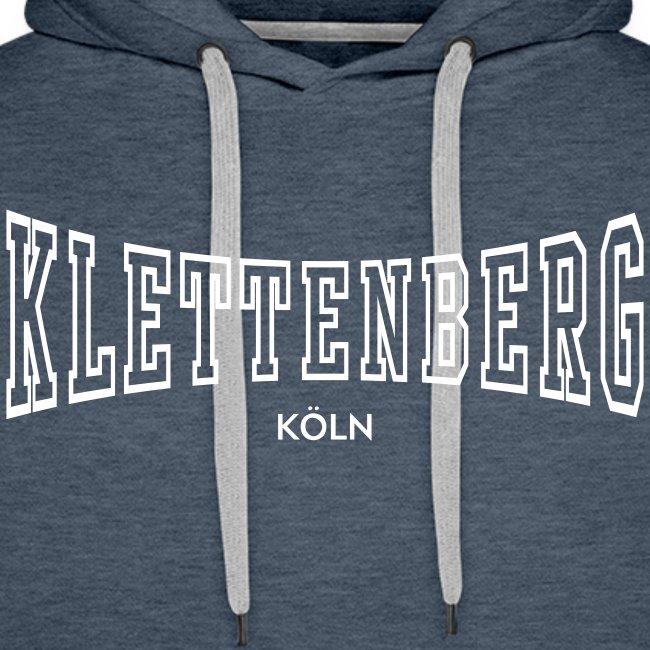 Klettenberg Outline Kapuzenshirt Farbwahl (weißer Druck)