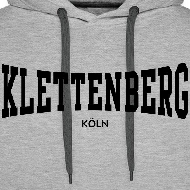 Klettenberg Kapuzenshirt Farbwahl (schwarzer Druck)