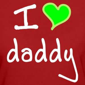 I love daddy - Ekologisk T-shirt dam
